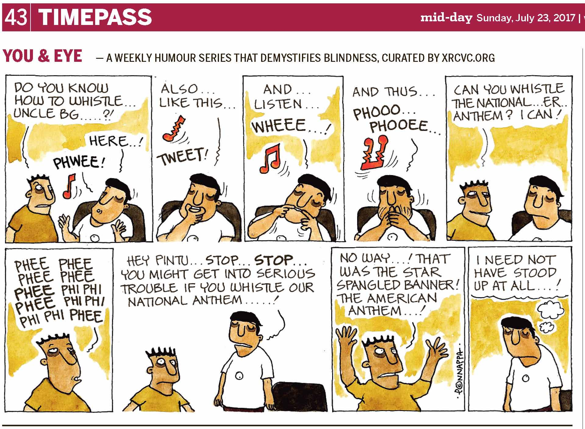 (top-left) 43 | TIMEPASS (top-right) mid-day Sunday, July 23, 2017 